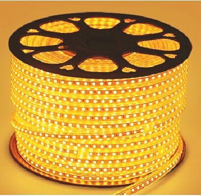 50m Led Strip smd 5050 220V Coil 6000 led Warm light 2500k