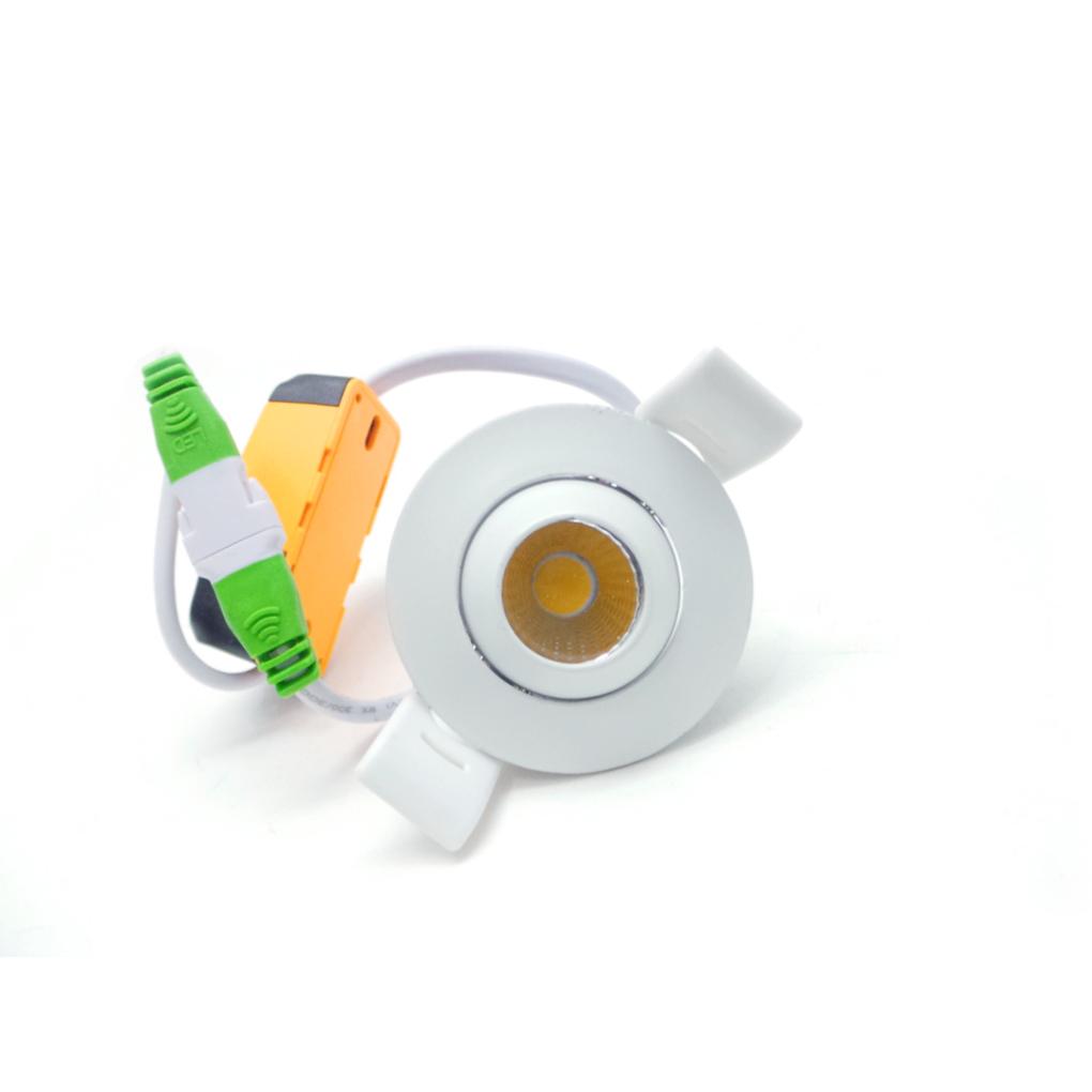 Mini Faretto Led Incasso 3w.I2 3w Faretti Led E Ghiere Mini Faretto Led Tondo 3w