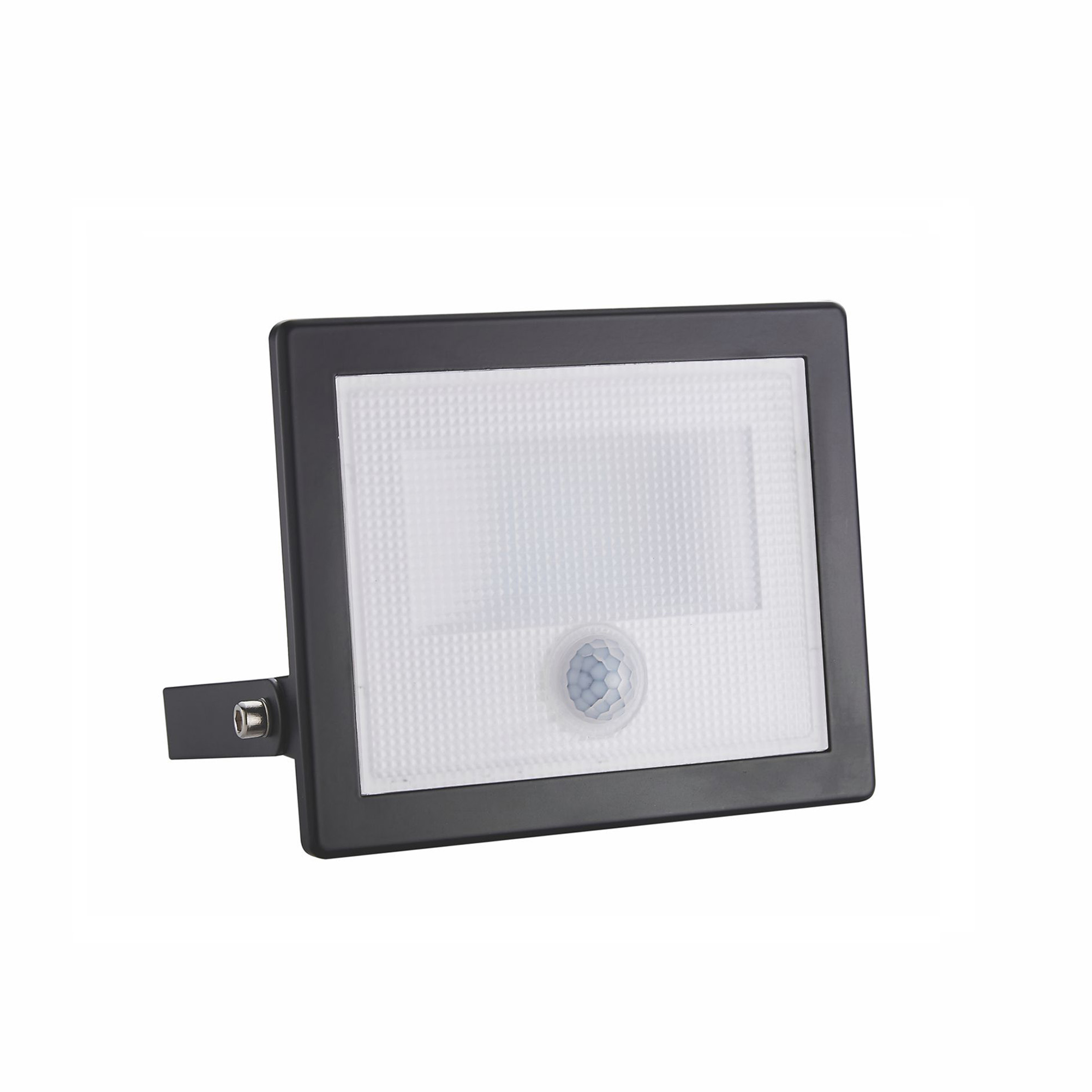 LED spotlight 30W super slim with motion sensor twilight Black exterior