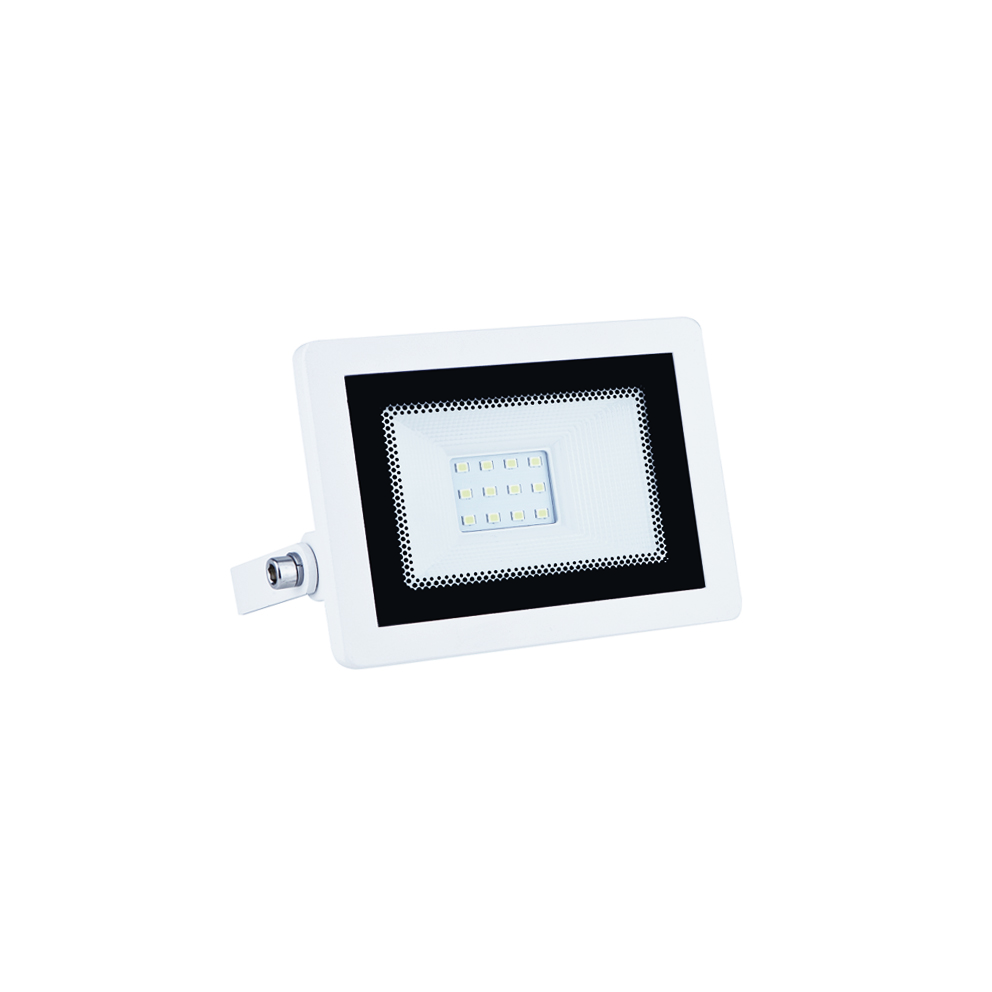Faro LED 10W Slim Da Esterno e Interno incluso Led ip65 versione WH
