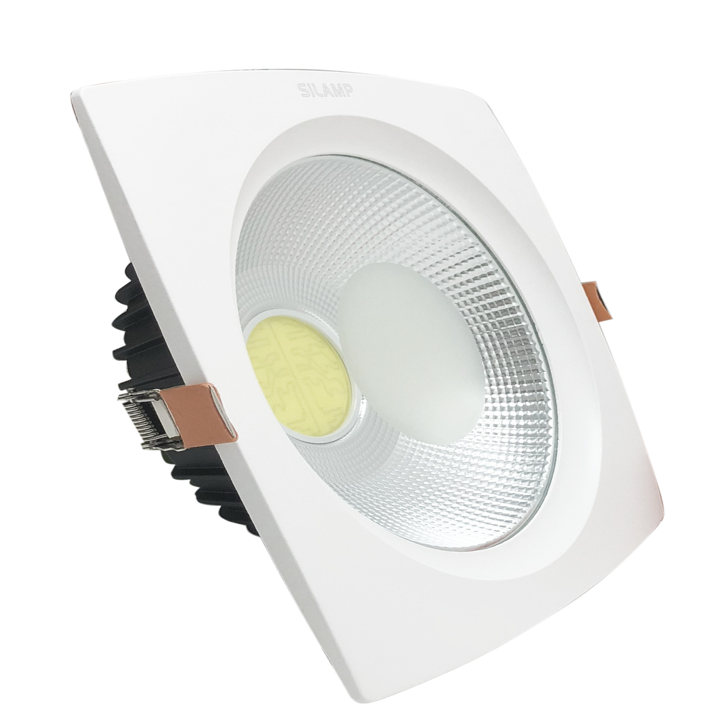 Lighthouse led recessed 40W TondoQuadrato ceiling Cob included Driver