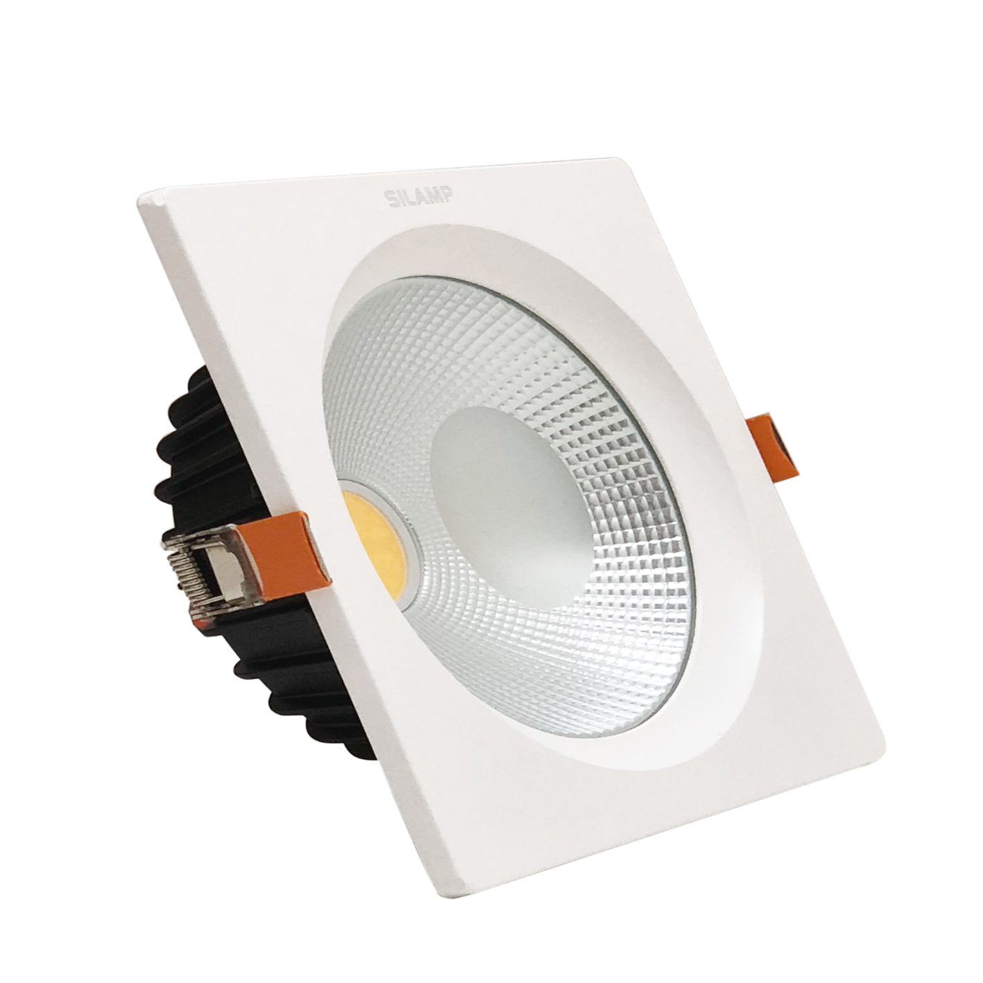 Faro led da incasso 30W Quadrato controsoffitto Cob incluso Driver