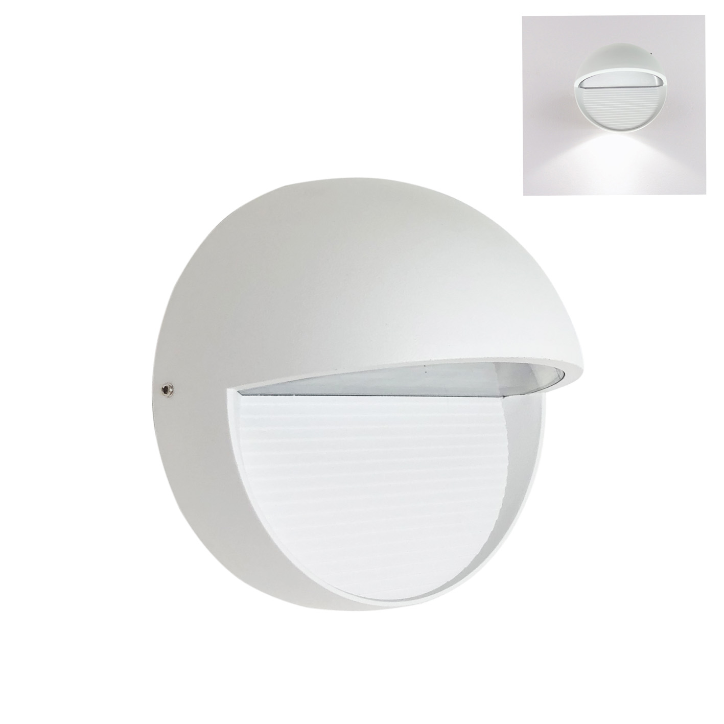 Lamp led wall sconce path light led 7W light, Wall application, Internal and External