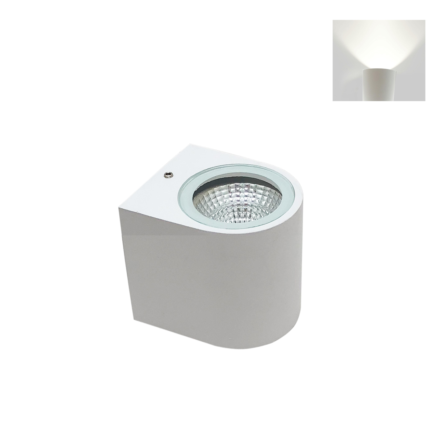 Led lamp, mono-beam light wall 3W Led wall 220v led cob