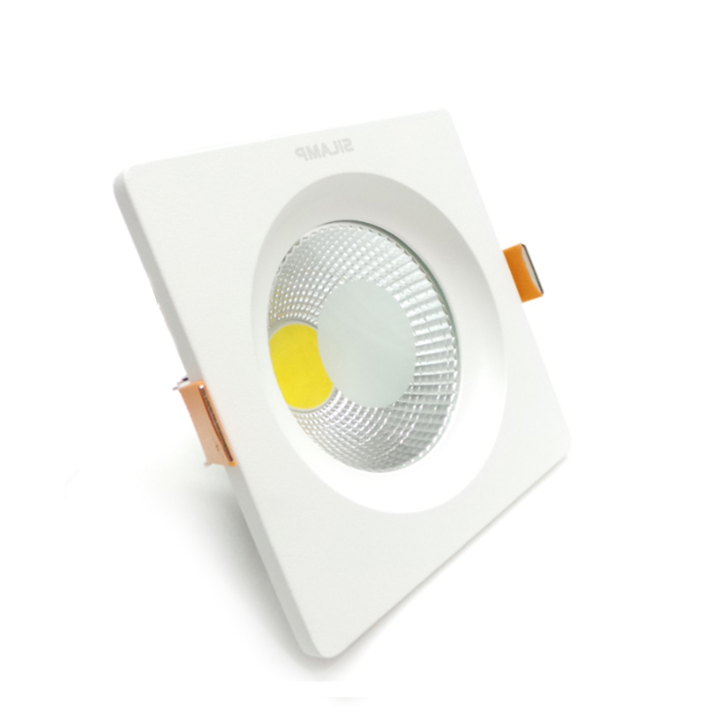 LED spotlight recessed 20W square led lights recessed cob with springs and driver included