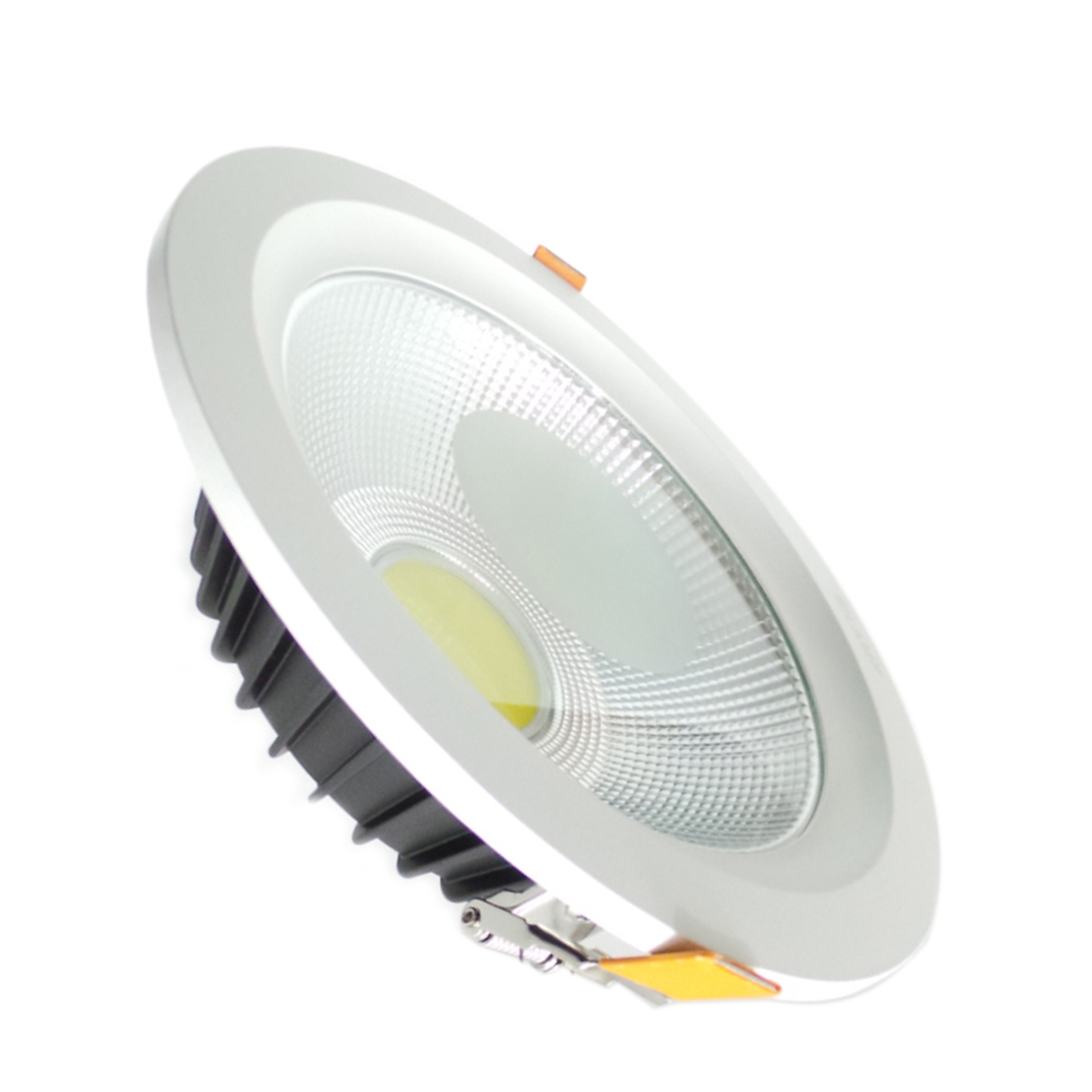 Spotlight LED recessed 40W round led lights recessed cob with springs and driver included