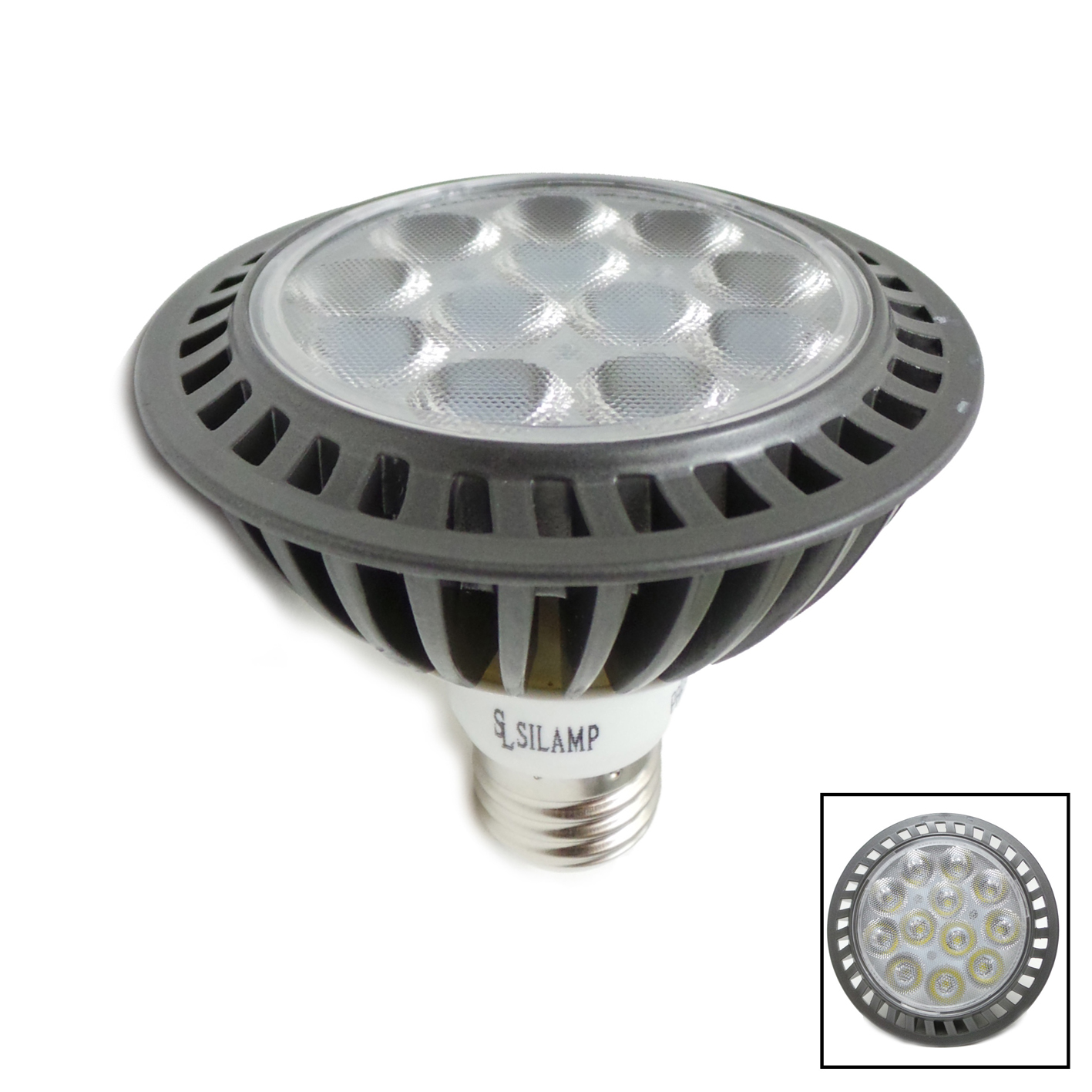 E27 LED PAR30 15W LED Light Bulb Lamp Silamp hot and cold
