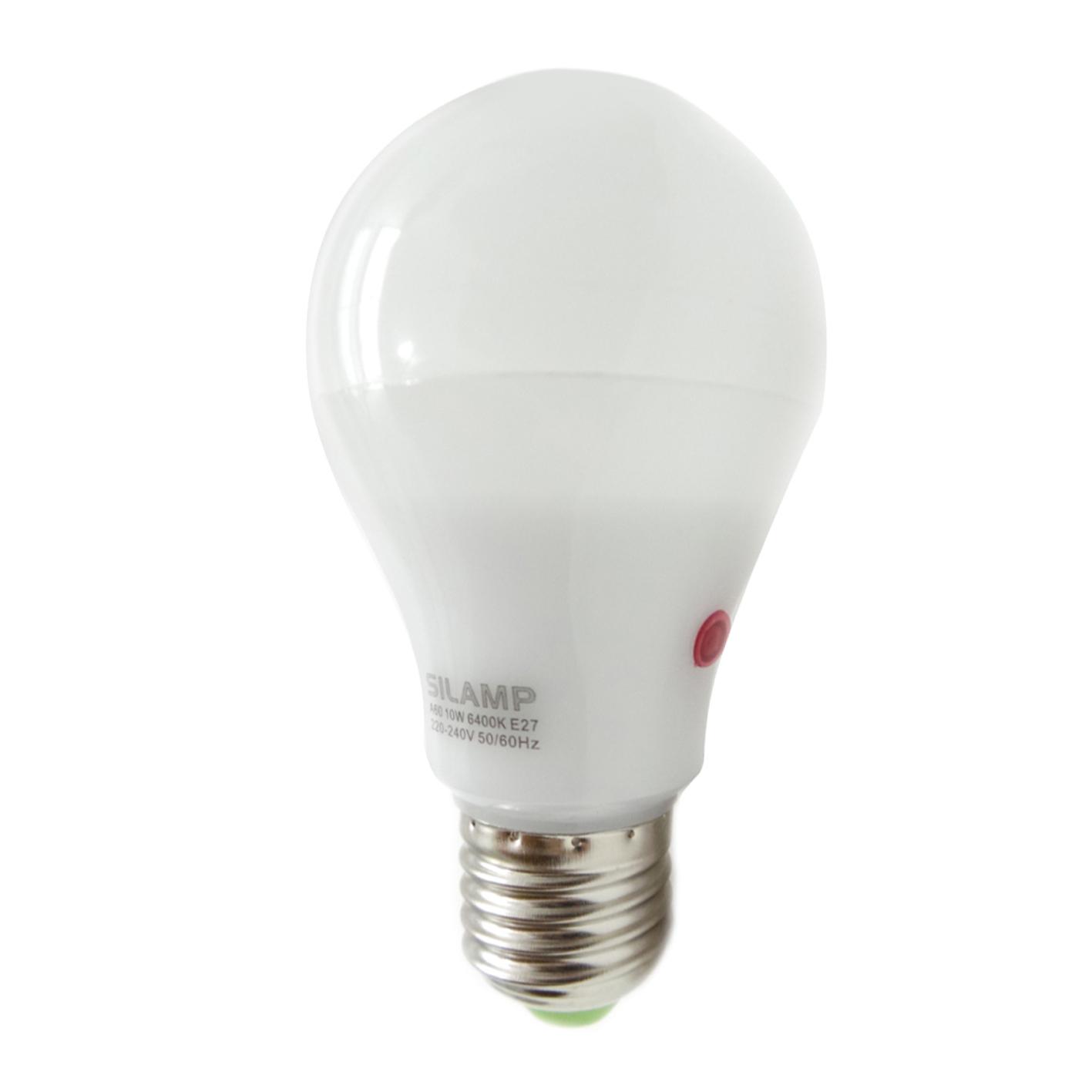 Sensore Accensione Lampade Con Crepuscolare.L30 10w Offerte Lampadine Led Silamp Lampadina Led