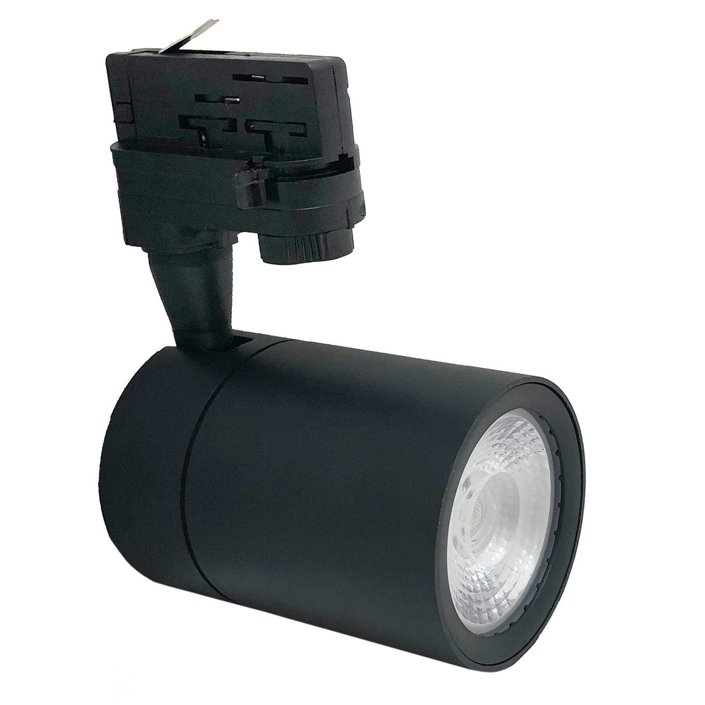 Projecteur à LED rail Noir, 30W en trois phases phare super compact COB-FB-21-30W
