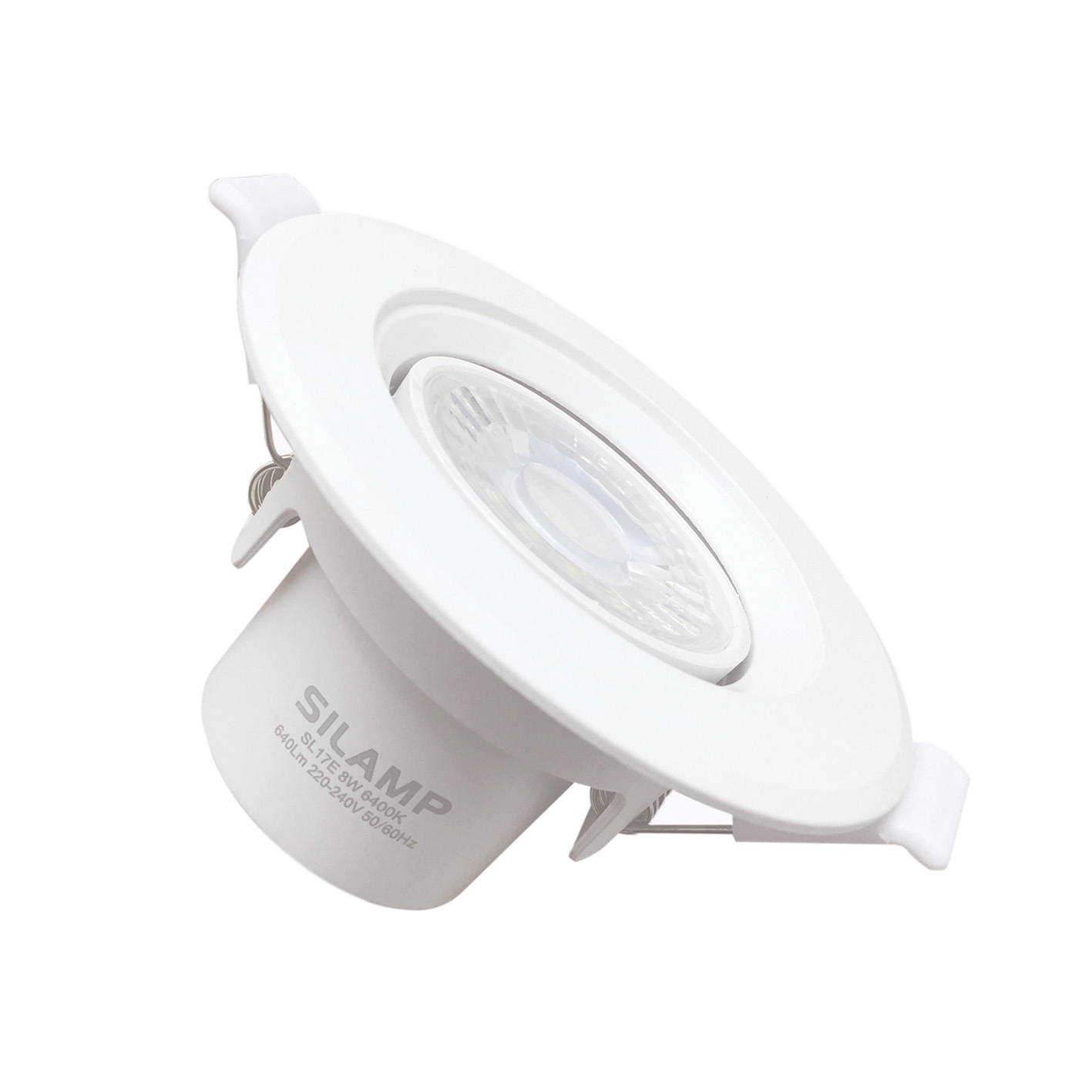 LED spotlight COB 8w adjustable round hole for flush 60-75 mm Fi-OR2