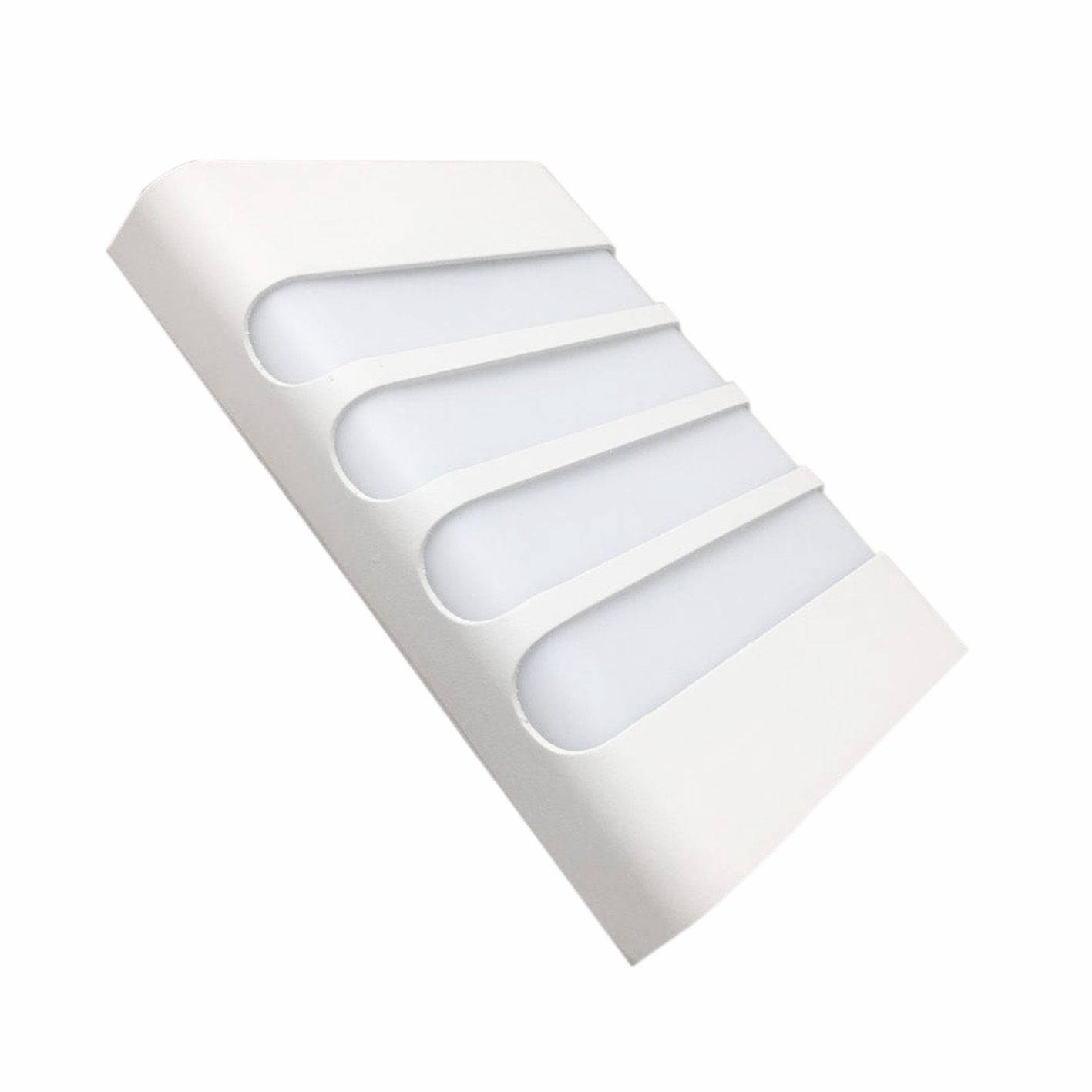 Wall lamp LED 18w dual beam stripes color white IP44 B57-18W