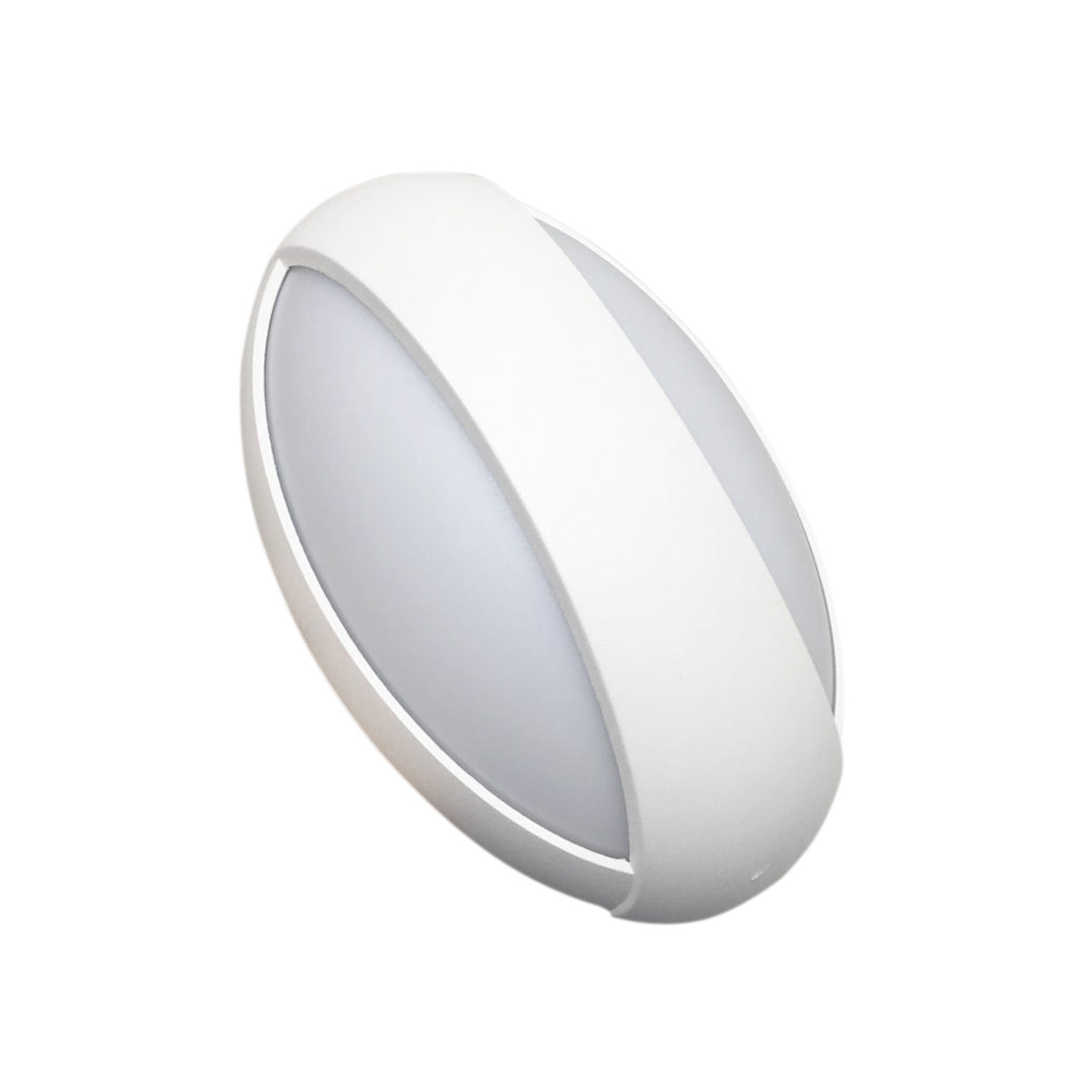 LED lamp 12w wall luminaire the ellipse to the interior B77-12W