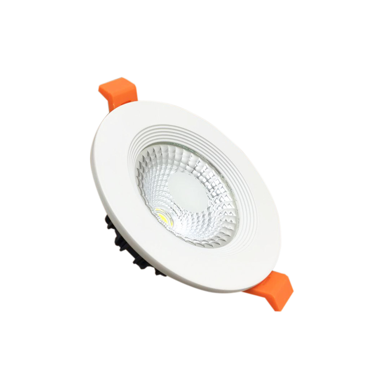 Spot LED encastrable 5W diamètre de 100 mm F. I. 70-120 mm transformateur inclus