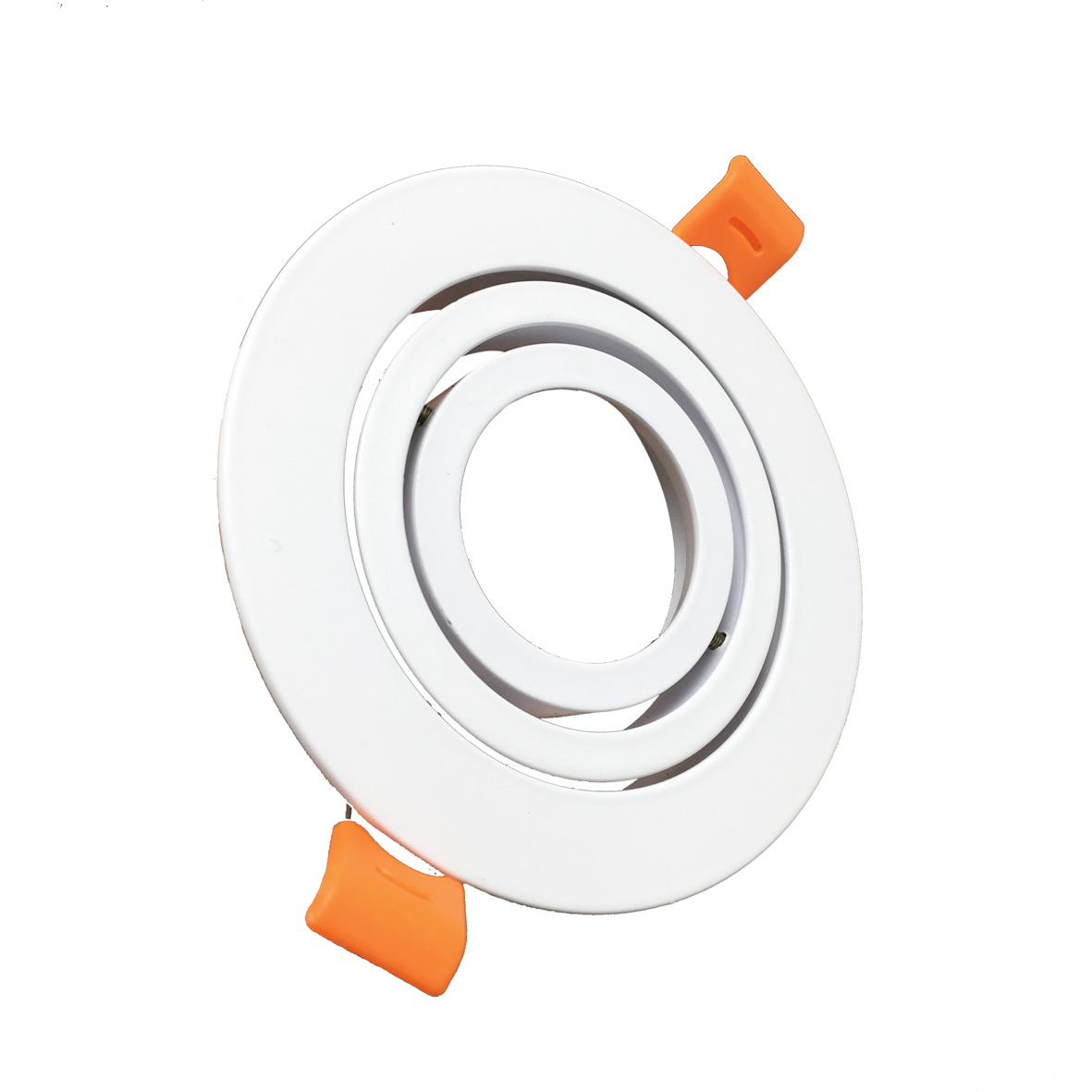 Portafaretto recessed Swivel LED spotlight GU10 Led ROUND escutcheon