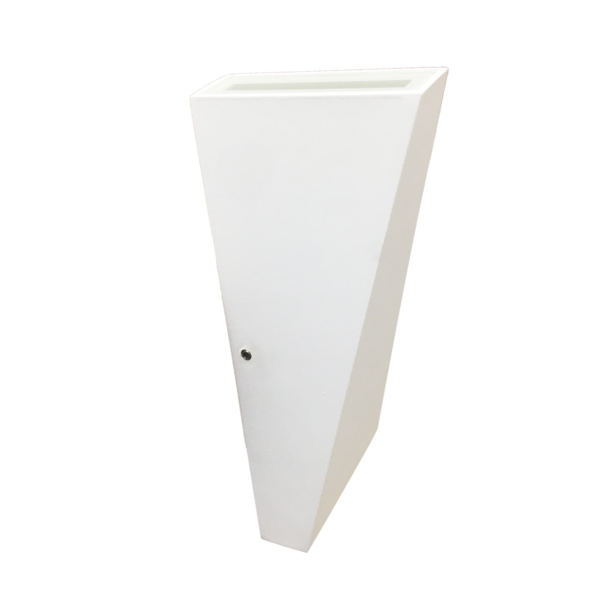 Wall lamp LED 10w cone, square finishing white mono beam