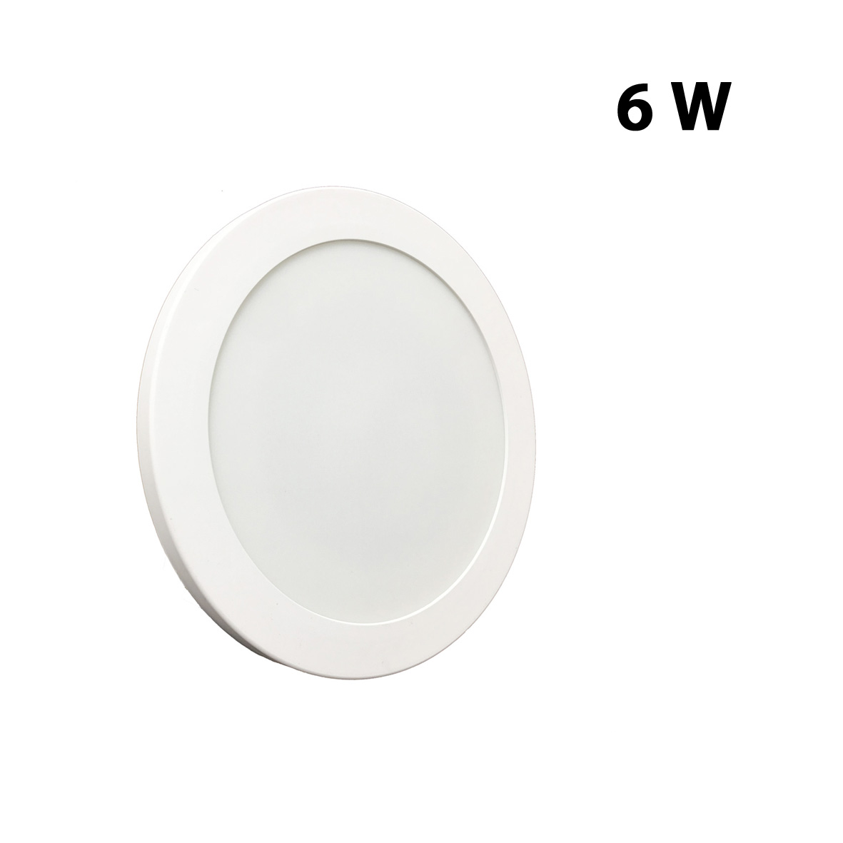 Plafonnier applique LED 6w slim diamètre du disque de 123 mm mur, plafond, LED