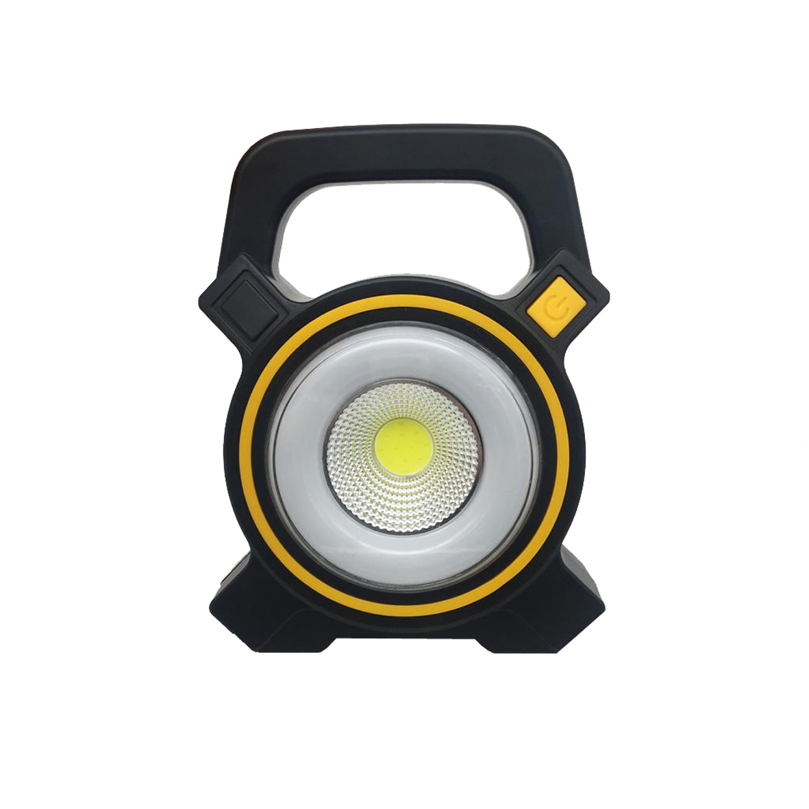 LED lamp, portable 3W COB rechargeable light, USB, solar energy