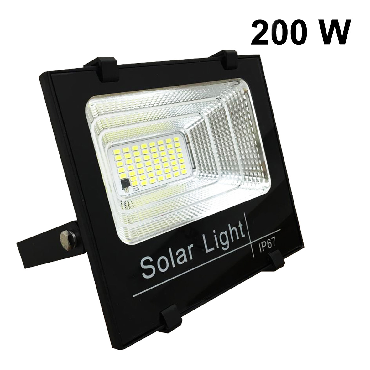 Projector Headlight-energy 100w solar with a solar panel included-DIMMABLE