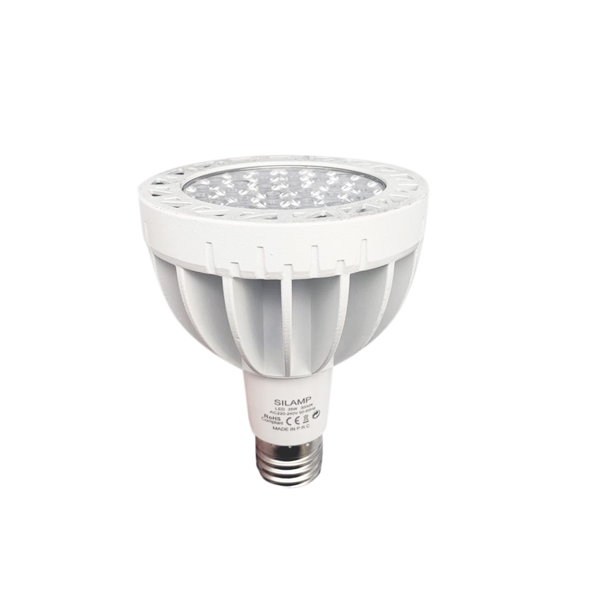 LED bulb E27 35W PAR30 LED Light Bulb Lamp Silamp hot and neutral