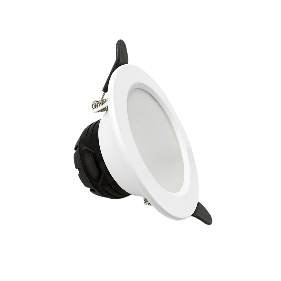 LED spotlight 6W recessed diameter 100mm F. I. 75-95mm WHITE Fi51-6W