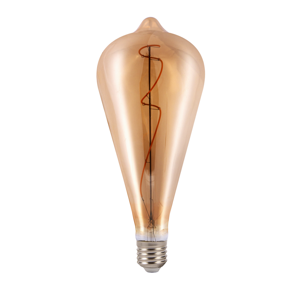 LED lamp 8W big E27 Sleek design, with filament L90-8W