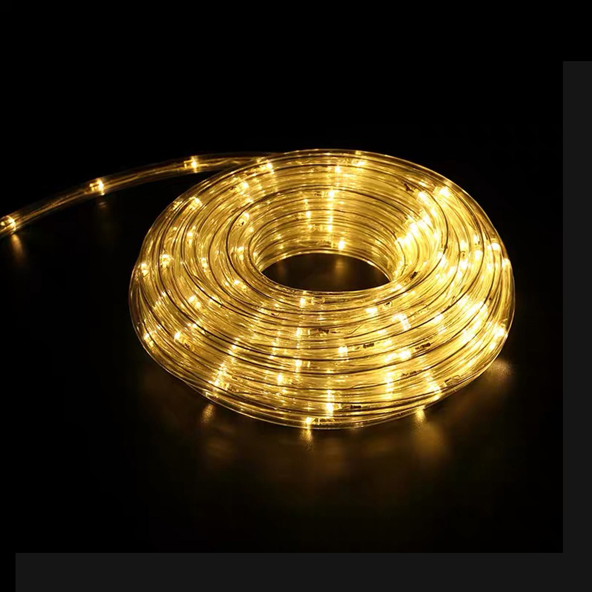 The coil is between 10 and 20 m LED TUBE light Warm light 220v IP65 LEDTUBO-YE