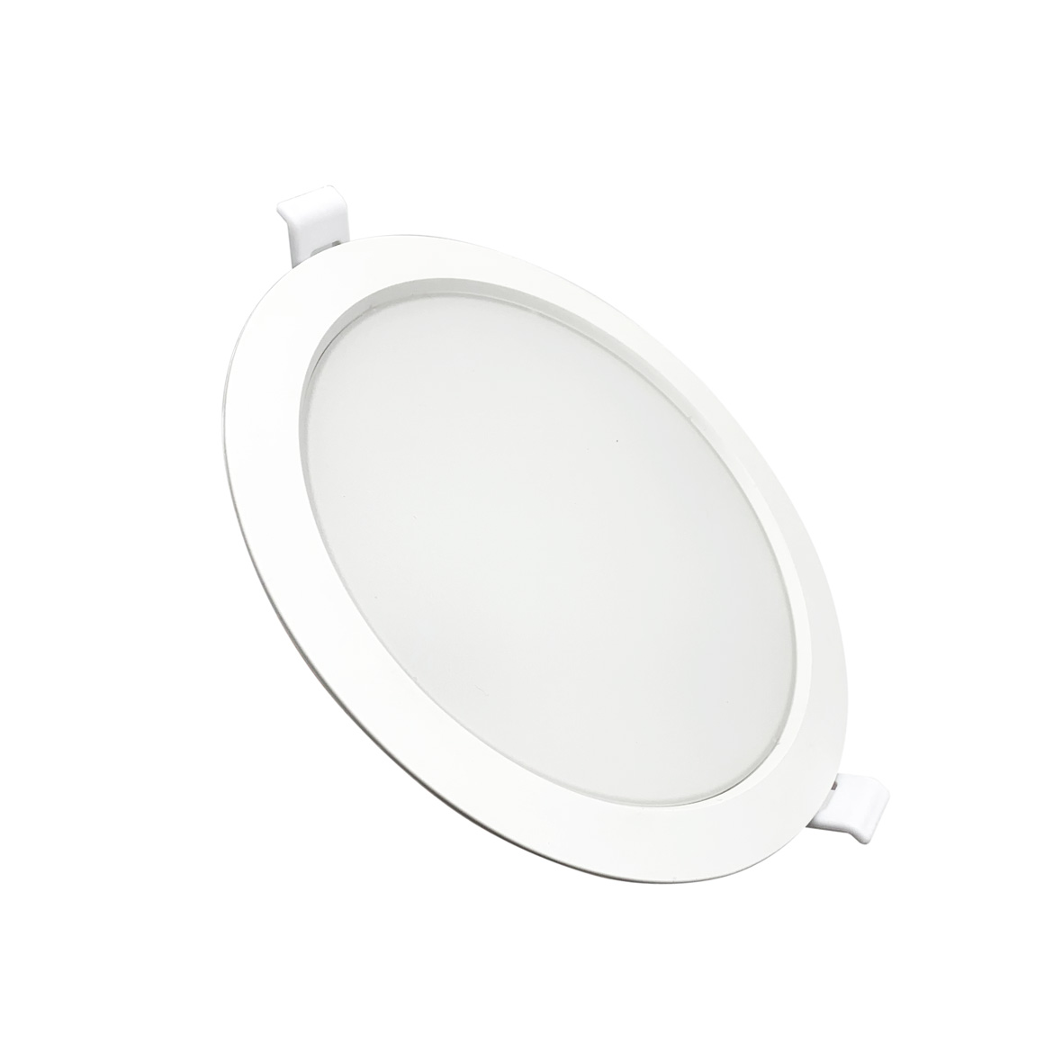 Projecteur LED 220v downlight à led 24W rond Blanc diamètre de la Jante 225mm DL6g