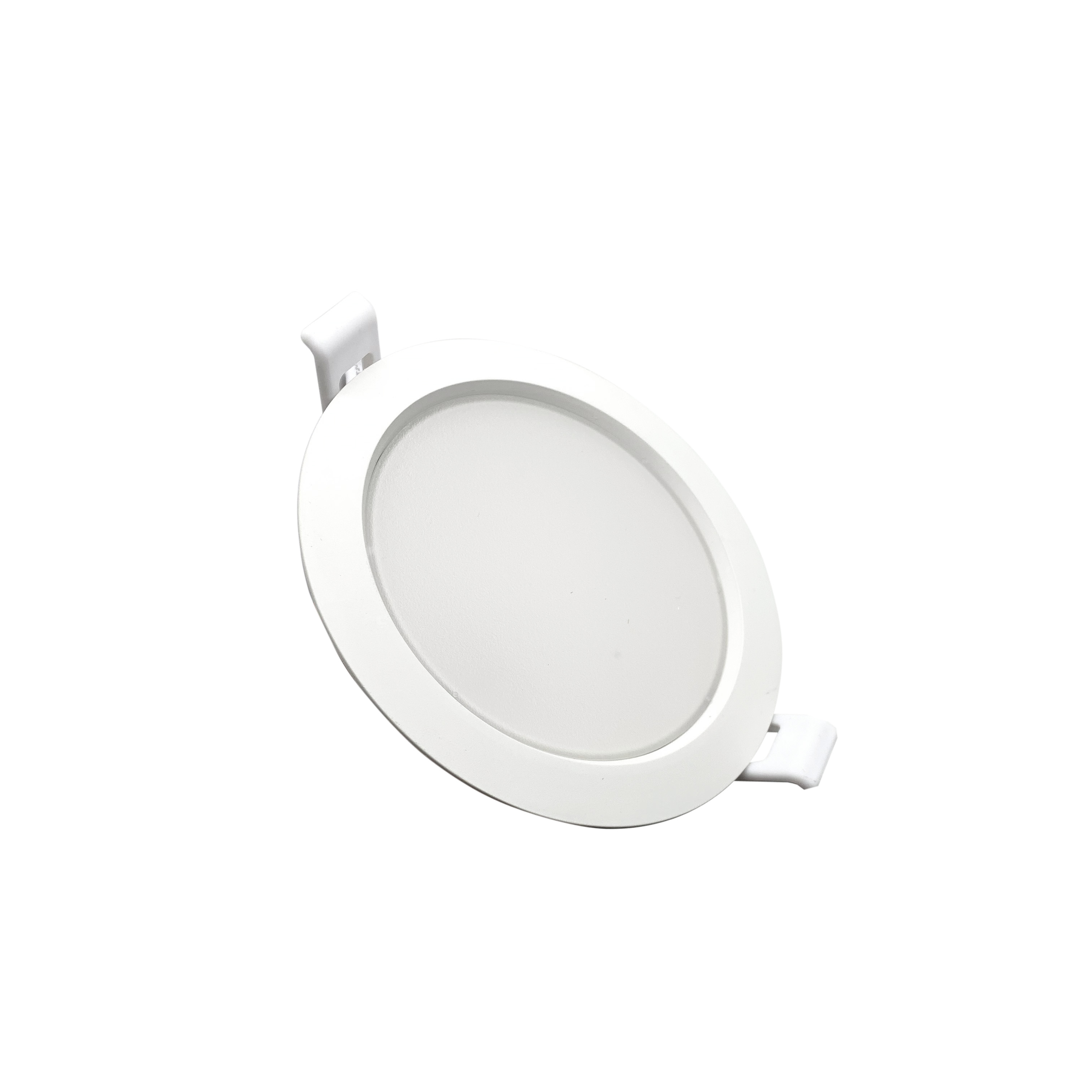 Projecteur LED 220v downlight 10W rond Blanc diamètre de la Jante 115mm DL6g