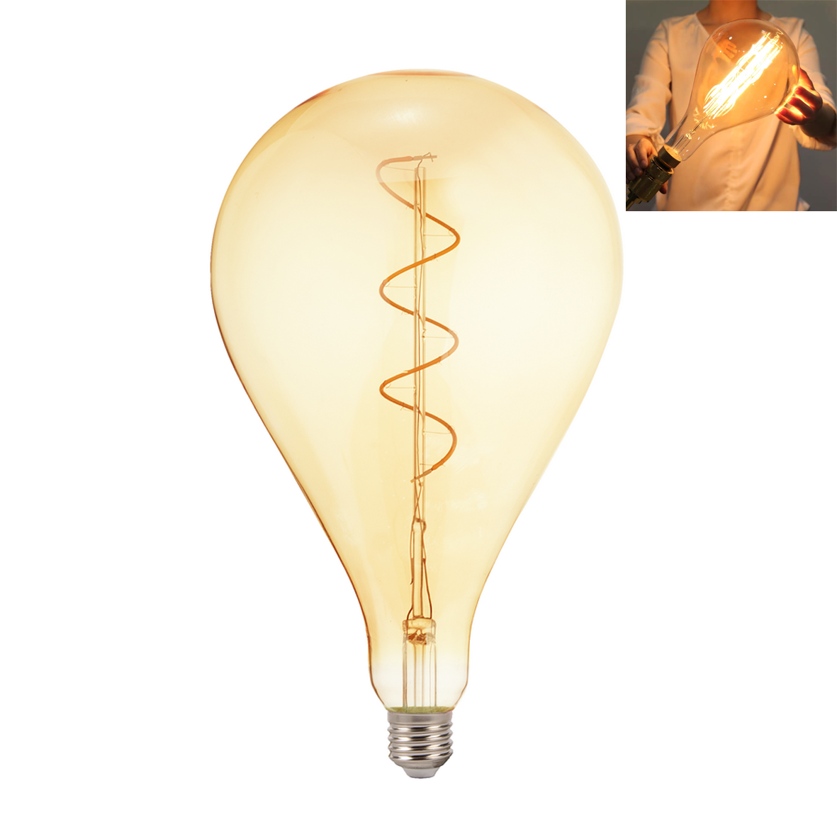 LED lamp 8W big E27 design a hot air Balloon with the filament L94-8W
