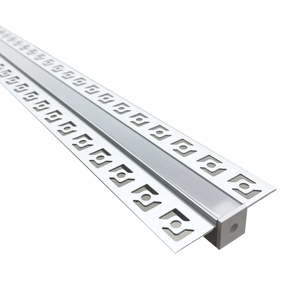 Aluminum profile recessed width 1.5 m for led Strip BAR-9-1M