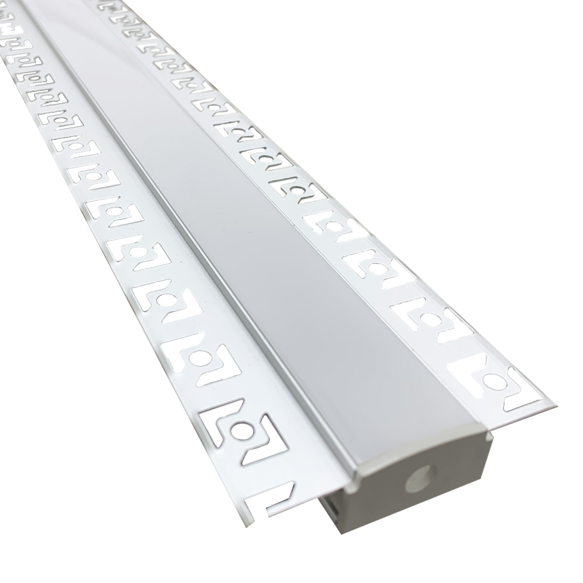 Profil en aluminium encastrable largeur 2cm BARRE de Strip led-16-1M