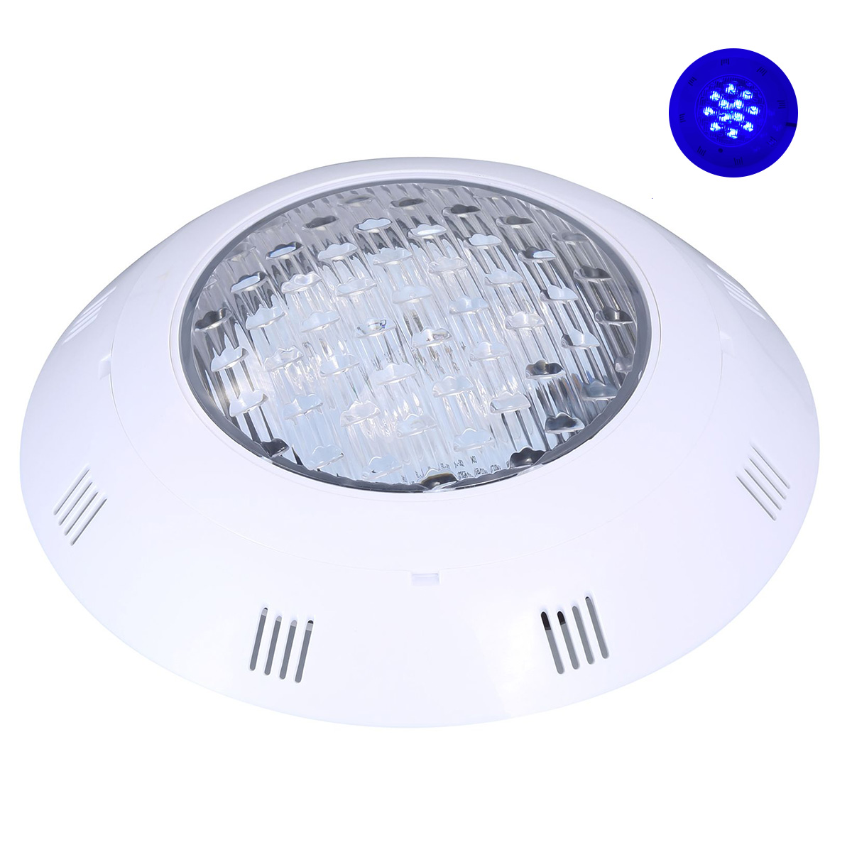 LED spotlight 12V 12w for indoor Fountains, Waterproof FE75-12W color BLUE