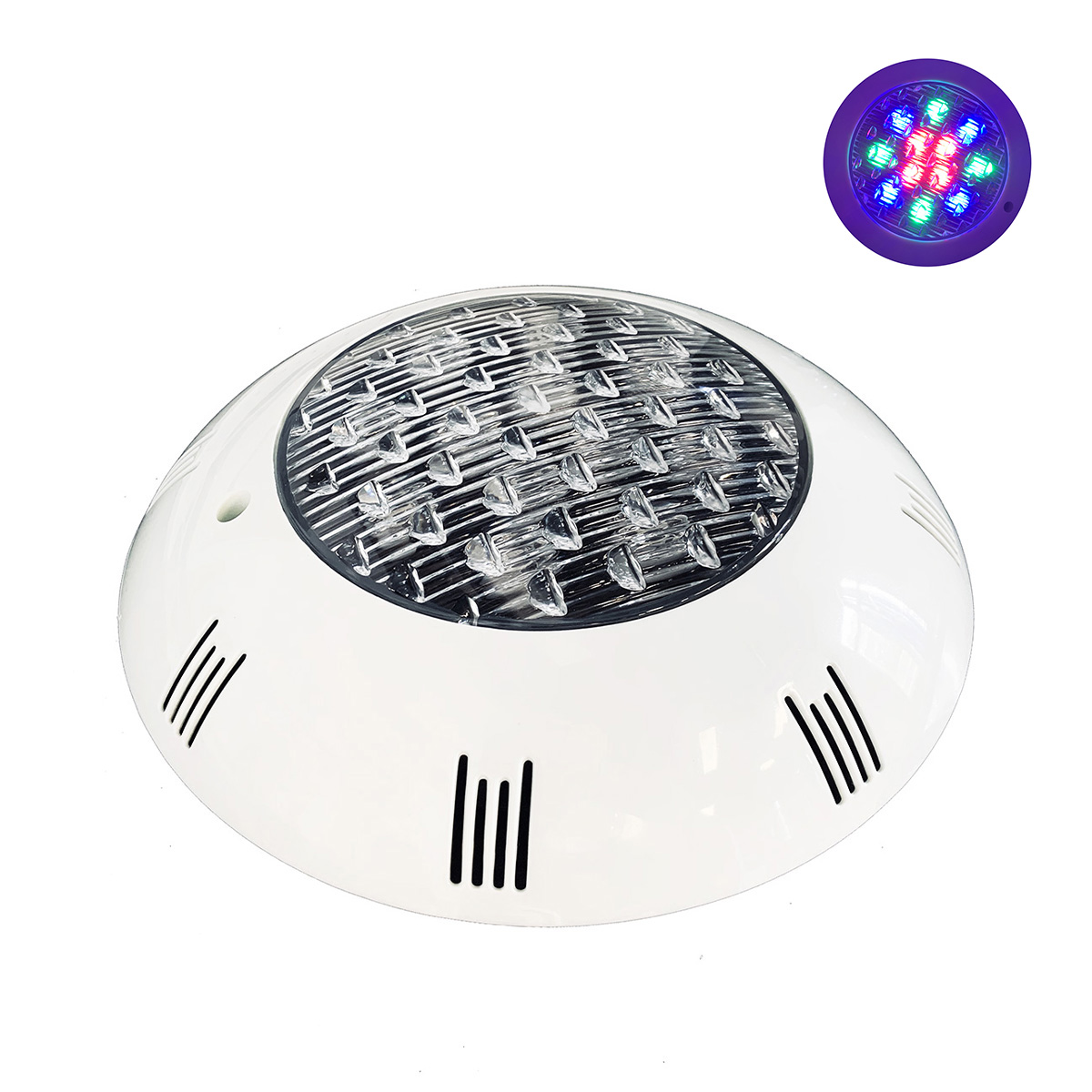 LED spotlight 12V 12w for indoor Fountains, Waterproof IP68 FE80-12W Multicolor