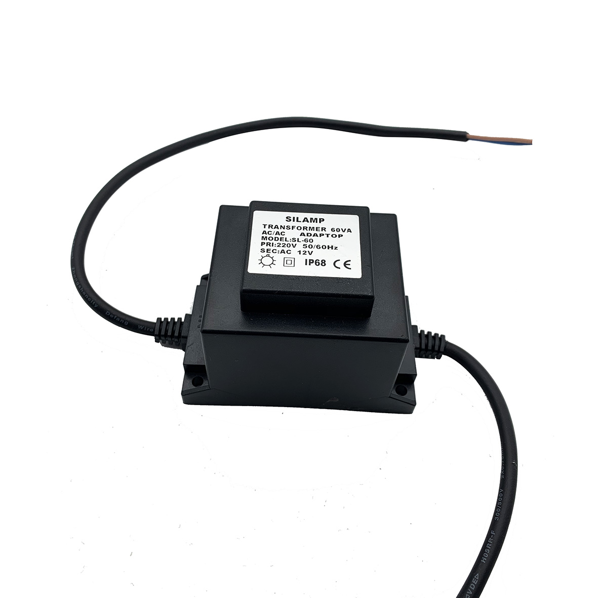 LED transformer 60W 12v AC KSR-60W-IP68 Lamp for swimming Pool