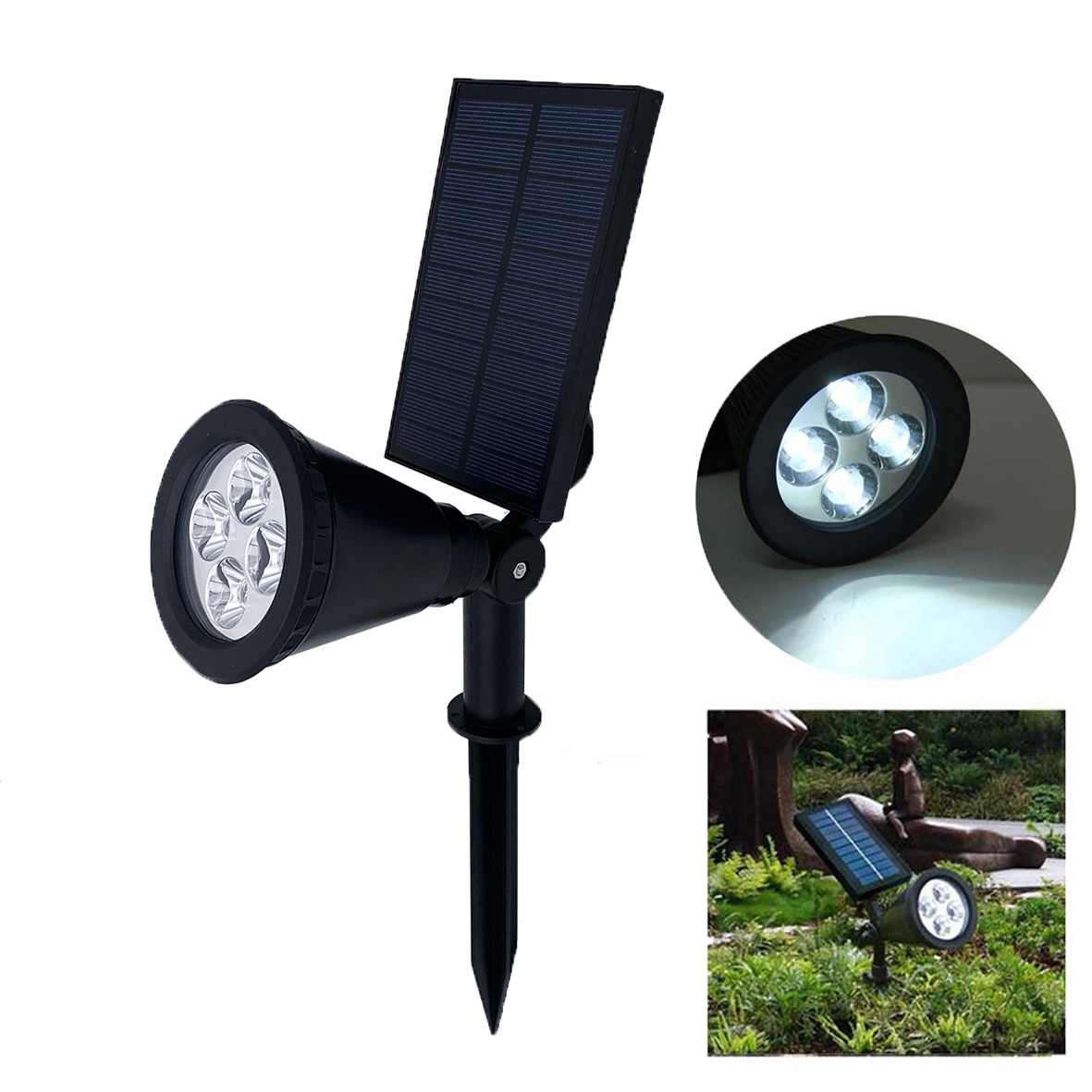 LED spotlight spike 5W lighting outdoor garden F101-5W