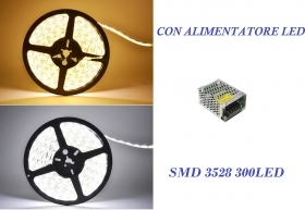 Striscia Led 5m smd 3528 300le