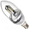 Lampadina E14 LED Candela Oliva 3W con 32 Led Smd 3014 Luce Calda e Neutra