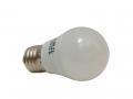 Lampadina Led a Miniglobo E27 3W Attacco Grande Luce Fredda E Calda Lampadine