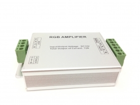 Amplifier signal RGB strip 12v 12A, 360w kit control Unit Controller
