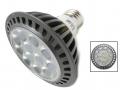 Lampadina E27 LED PAR30 15W Silamp Lampada Faretto Led luce calda e fredda