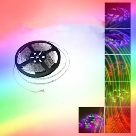 Striscia Led rgb 5m strip Striscia led 5050 led rgb cambiacolore 12v