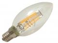 Lampadina Led 6W oliva  E14 luce Calda Attacco piccolo Lampadine a Led