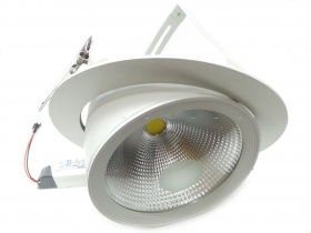 Faro Led Da Incasso COB 30W Or