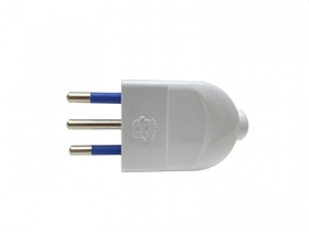 Socket adapter-flat plug to th