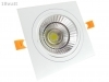 Spotlight LED recessed Square 18W Cob led spotlight ceiling with Led power supply