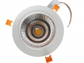 Faretto LED incasso 18W Cob faro led controsoffitto con alimentatore Led
