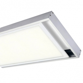- Bezel Kit mounting led panel 120x30 Brackets closed Wall and Ceiling Panels, Led Bracket