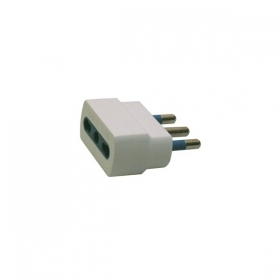 Socket adapter-flat plug to the network 10A adapter Electrical SP 393B