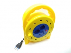 Cable reel Extension cord Wind