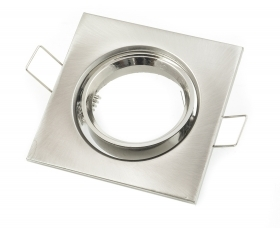 Square recessed spotlight Adjustable Stainless Steel Ring Spot Farettino other